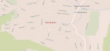 solymar map 430x200